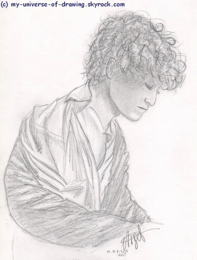 Louis Garrel by AngelRainbow